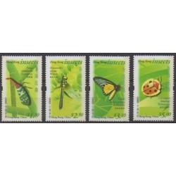 Hong-Kong - 2000 - No 943A/943D - Insectes
