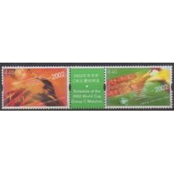 Hong Kong - 2002 - Nb 1013/1014 - Soccer World Cup