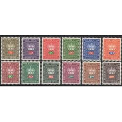 Liechtenstein - 1968 - Nb S45/S56