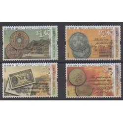 Hong-Kong - 2004 - No 1145/1148 - Monnaies, billets ou médailles