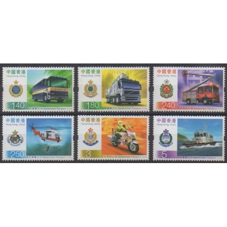 Hong Kong - 2006 - Nb 1287/1292 - Transport