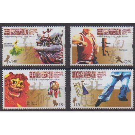 Hong Kong - 2007 - Nb 1339/1342 - Various sports