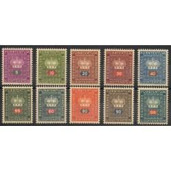 Liechtenstein - 1950 - No S 35/S 44