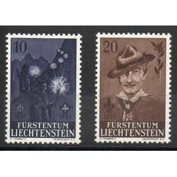 Liechtenstein - 1957- No 322/323 - Scouts