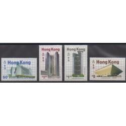 Hong-Kong - 1985 - No 466/469 - Architecture