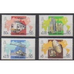 Hong-Kong - 1986 - No 479/482 - Exposition
