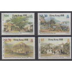 Hong Kong - 1987 - Nb 495/498 - Paintings