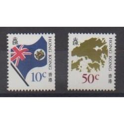 Hong Kong - 1987 - Nb 518/519