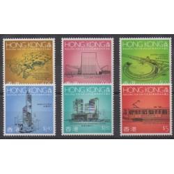 Hong-Kong - 1989 - No 580/585 - Monuments