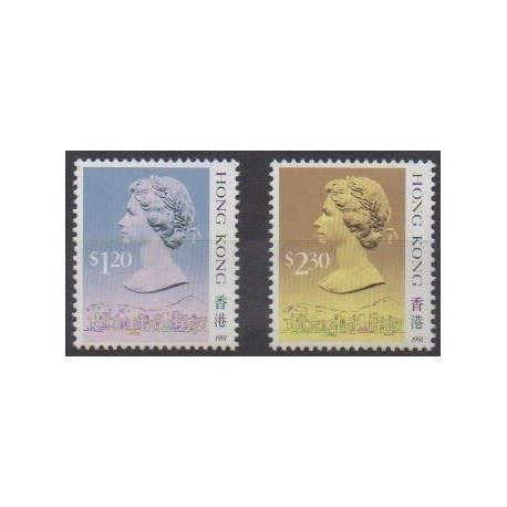 Hong Kong - 1991 - Nb 634/635