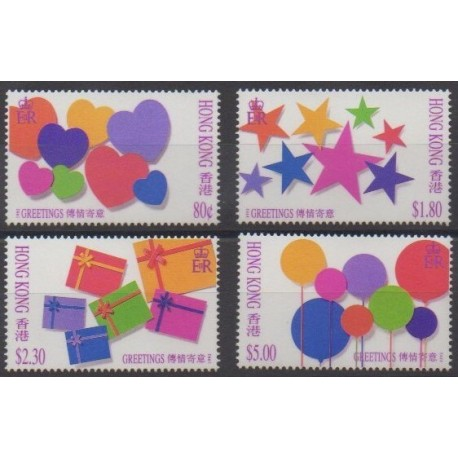 Hong Kong - 1992 - Nb 707/710