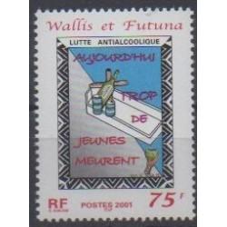 Wallis and Futuna - 2001 - Nb 549 - Health