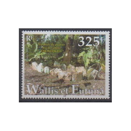 Wallis and Futuna - 2001 - Nb 564 - Various Historics Themes