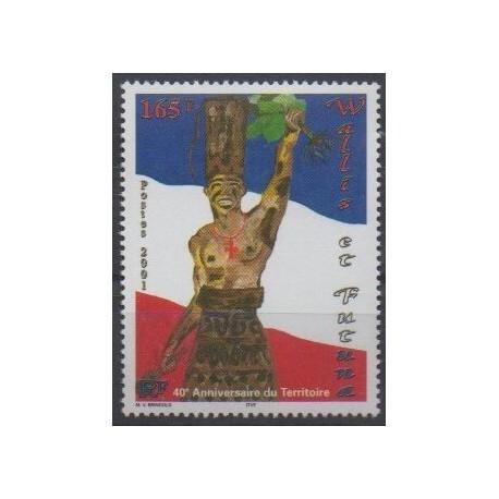 Wallis and Futuna - 2001 - Nb 554 - Various Historics Themes