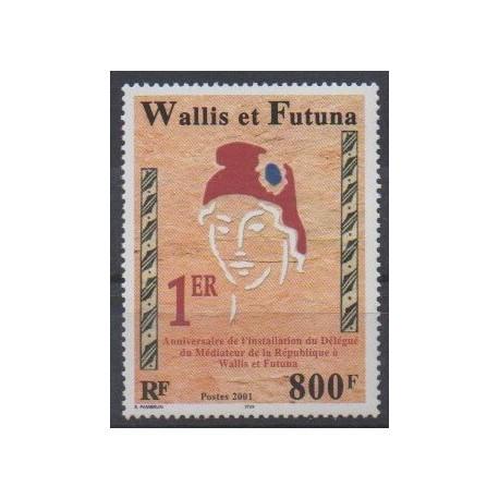 Wallis and Futuna - 2001 - Nb 560 - Various Historics Themes