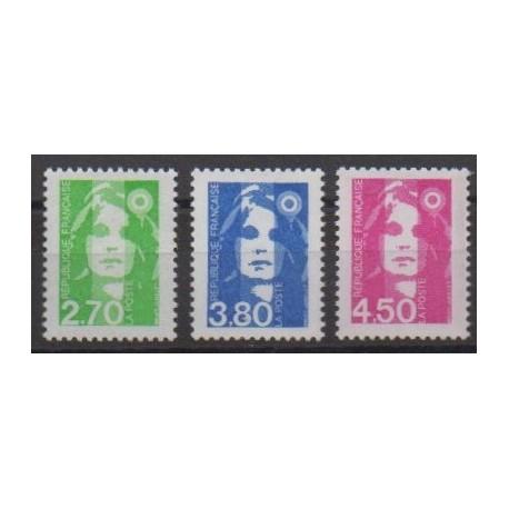 France - Poste - 1996 - Nb 3005/3007