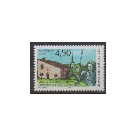 France - Poste - 1996 - Nb 3002 - Various Historics Themes