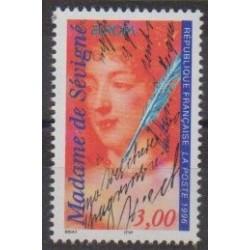 France - Poste - 1996 - Nb 3000A - Literature - Europa