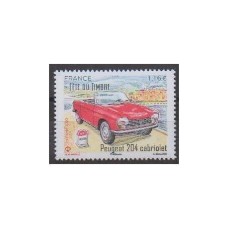 France - Poste - 2020 - Nb 5429 - Cars - Peugeot 204 Cabriolet