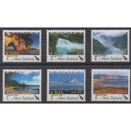 New Zealand - 2006 - Nb 2242/2247 - Sights