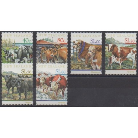 New Zealand - 1997 - Nb 1505/1510 - Mamals