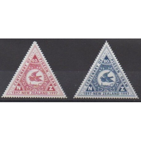 New Zealand - 1997 - Nb 1524/1525 - Postal Service