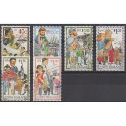 New Zealand - 1998 - Nb 1598/1603 - Various Historics Themes