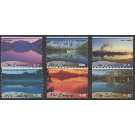 New Zealand - 2000 - Nb 1777/1782 - Sights
