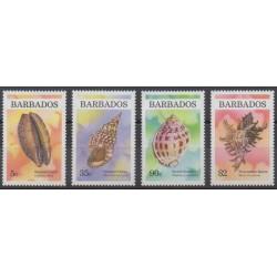 Barbade - 1997 - No 962/965 - Vie marine