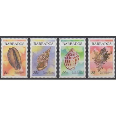 Barbados - 1997 - Nb 962/965 - Sea life