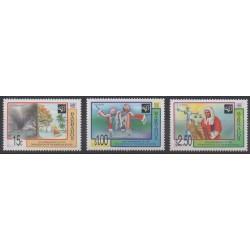 Barbade - 1998 - No 983/985 - Histoire