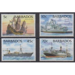 Barbados - 1998 - Nb 990/993 - Boats