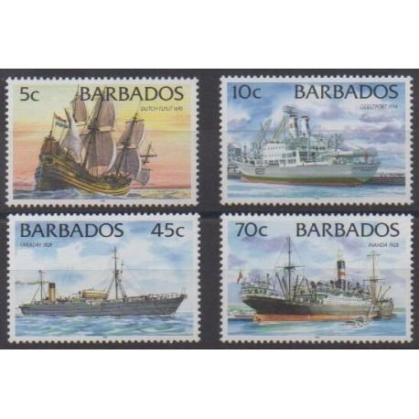 Barbados - 1998 - Nb 990/993 - Boats