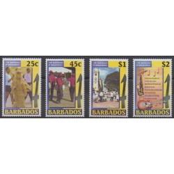 Barbados - 2001 - Nb 1060/1063 - Various Historics Themes
