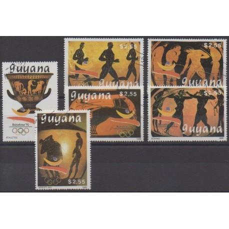 Guyana - 1989 - Nb 2151D/2151J - Summer Olympics - Used