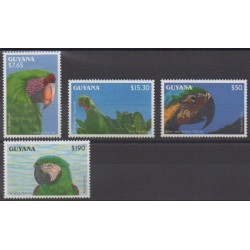 Guyana - 1993 - Nb 2934/2937 - Birds