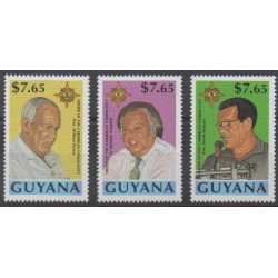 Guyana - 1993 - Nb 3045/3047 - Celebrities
