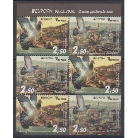 Bosnia and Herzegovina - 2020 - Nb C835a - Postal Service - Europa