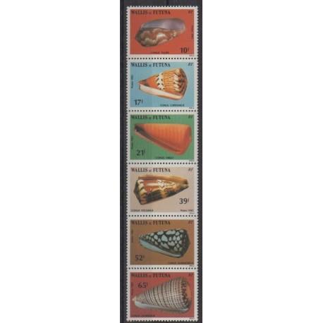 Wallis and Futuna - 1983 - Nb 306/311 - Sea life
