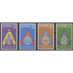 Guyana - 1975 - Nb 470/473