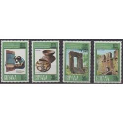 Guyana - 1978 - Nb 534/537