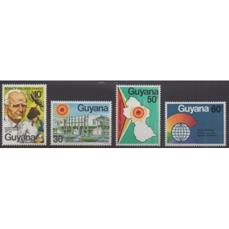Guyana - 1978 - Nb 519/522 - Science