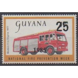 Guyana - 1985 - Nb 1257 - Firemen
