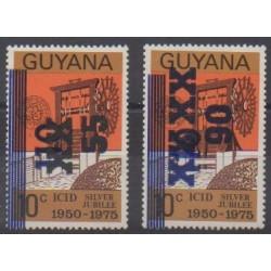 Guyana - 1984 - Nb 1013/1014