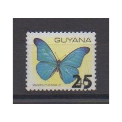 Guyana - 1987 - Nb 1592AB - Insects