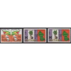Guyana - 1986 - Nb 1325/1328