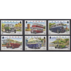Jersey - 1998 - Nb 818/823 - Transport