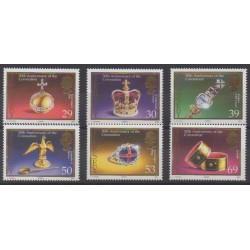 Jersey - 2003 - Nb 1109/1114 - Royalty