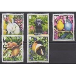 Jersey - 2003 - Nb 1121/1125 - Animals
