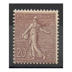 France - Varieties - 1903 - Nb 131a - Mint hinged